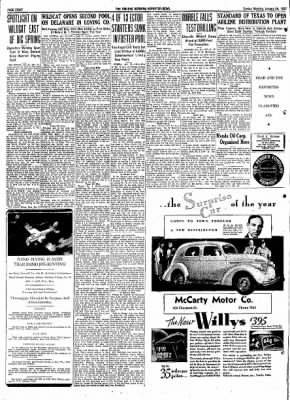 Abilene Reporter-News from Abilene, Texas on January 24, 1937 · Page 15