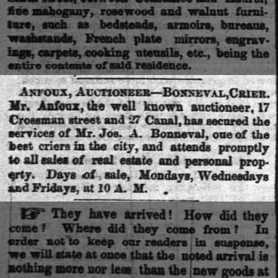 29 June, 1866 Times-Picayune
