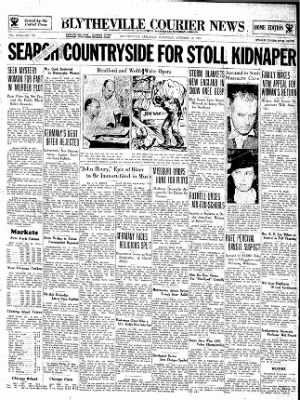 The Courier News from Blytheville, Arkansas on October 13, 1934 · Page 1