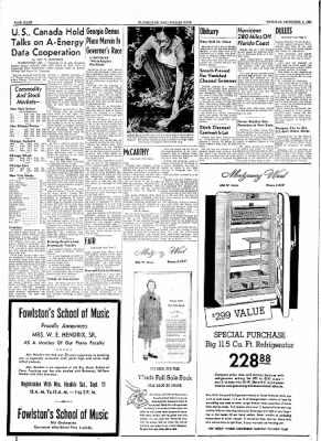 The Courier News from Blytheville, Arkansas on September 9, 1954 · Page 8