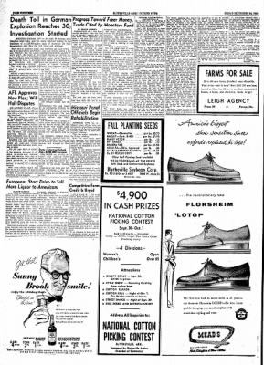 The Courier News from Blytheville, Arkansas on September 24, 1954 · Page 14