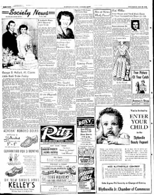 The Courier News from Blytheville, Arkansas on May 28, 1952 · Page 4