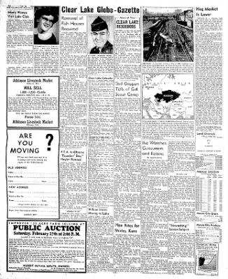 The Mason City Globe-Gazette from Mason City, Iowa on February 20, 1954 · Page 14