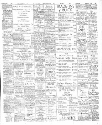 The Mason City Globe-Gazette from Mason City, Iowa on August 22, 1952 · Page 15