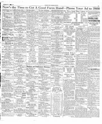 The Mason City Globe-Gazette from Mason City, Iowa on February 18, 1931 · Page 17