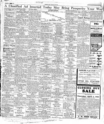The Mason City Globe-Gazette from Mason City, Iowa on March 28, 1931 · Page 16