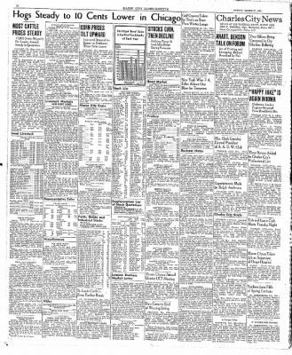 The Mason City Globe-Gazette from Mason City, Iowa on March 27, 1939 · Page 16