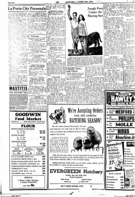 Progress-Review from La Porte City, Iowa on January 21, 1943 · Page 4