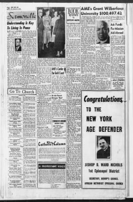 The New York Age from New York, New York on March 21, 1953 · Page 20