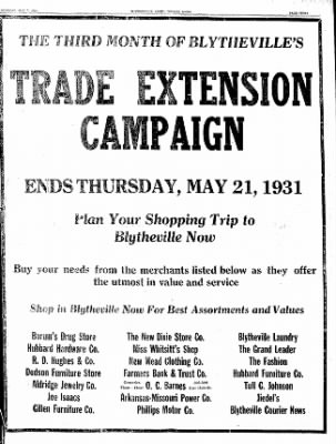 The Courier News from Blytheville, Arkansas on May 7, 1931 · Page 3