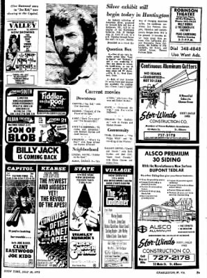 Sunday Gazette-Mail from Charleston, West Virginia on July 30, 1972 · Page 94