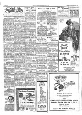 The Daily Courier from Connellsville, Pennsylvania on January 19, 1939 · Page 2
