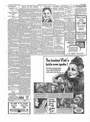 The Daily Courier from Connellsville, Pennsylvania on January 11, 1938 · Page 3