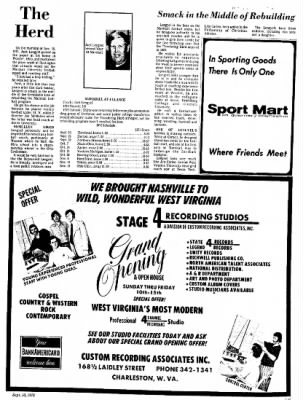 Sunday Gazette-Mail from Charleston, West Virginia on September 10, 1972 · Page 69
