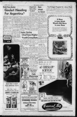 The Ottawa Journal from Ottawa,  on April 3, 1964 · Page 19