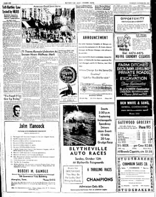 The Courier News from Blytheville, Arkansas on October 14, 1947 · Page 4