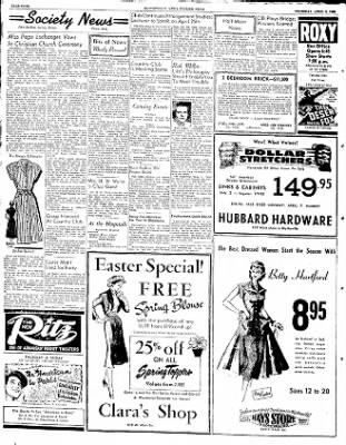 The Courier News from Blytheville, Arkansas on April 3, 1952 · Page 4