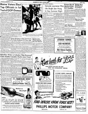The Courier News from Blytheville, Arkansas on September 8, 1952 · Page 9