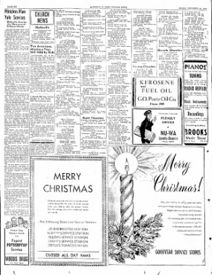 The Courier News from Blytheville, Arkansas on December 23, 1949 · Page 6