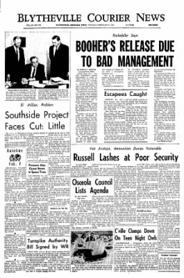 The Courier News from Blytheville, Arkansas on February 7, 1967 · Page 1