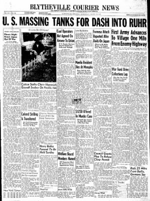 The Courier News from Blytheville, Arkansas on March 14, 1945 · Page 1