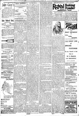 Logansport Pharos-Tribune from Logansport, Indiana on April 18, 1895 · Page 4
