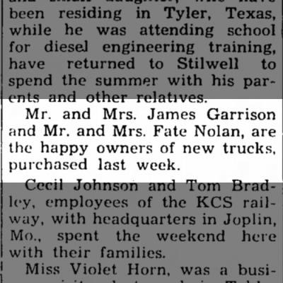 Fate, 30 Jun 1949