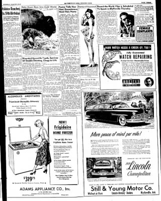 The Courier News from Blytheville, Arkansas on March 8, 1949 · Page 3