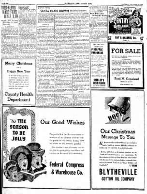 The Courier News from Blytheville, Arkansas on December 23, 1939 · Page 6