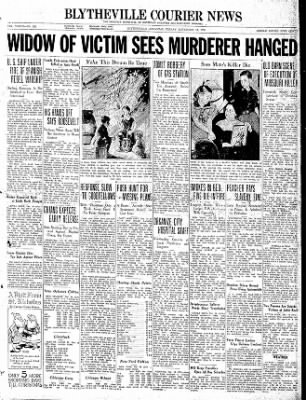The Courier News from Blytheville, Arkansas on December 18, 1936 · Page 1