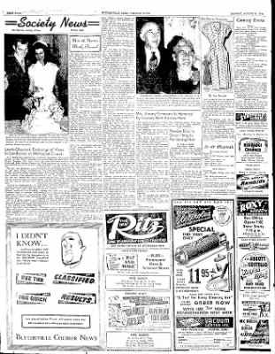 The Courier News from Blytheville, Arkansas on August 11, 1952 · Page 4