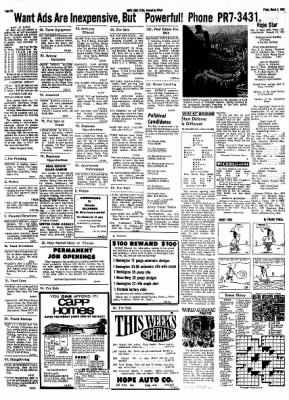 Hope Star from Hope, Arkansas on March 8, 1968 · Page 5