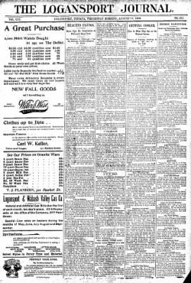 Logansport Pharos-Tribune from Logansport, Indiana on August 12, 1896 · Page 1