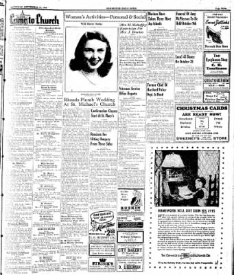 Naugatuck Daily News from Naugatuck, Connecticut on September 30, 1944 · Page 3
