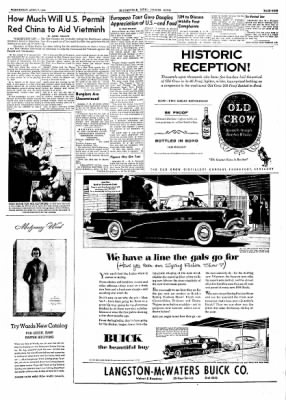 The Courier News from Blytheville, Arkansas on April 7, 1954 · Page 9