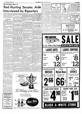 The Courier News from Blytheville, Arkansas on April 8, 1954 · Page 7