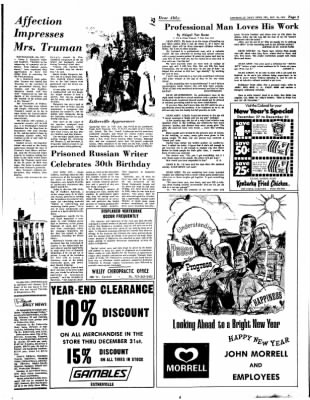 Estherville Daily News from Estherville, Iowa on December 29, 1972 · Page 3