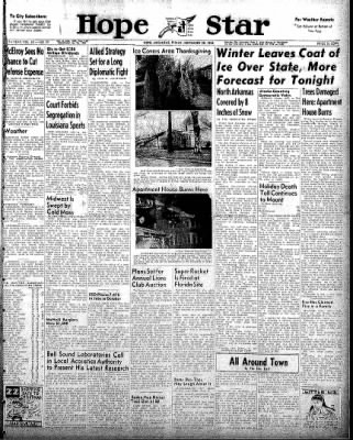 Hope Star from Hope, Arkansas on November 28, 1958 · Page 1