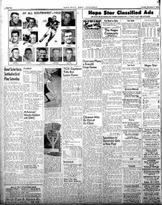 Hope Star from Hope, Arkansas on December 1, 1958 · Page 4
