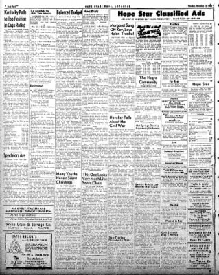Hope Star from Hope, Arkansas on December 23, 1958 · Page 4