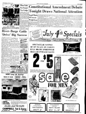 Alton Evening Telegraph from Alton, Illinois on June 26, 1963 · Page 3