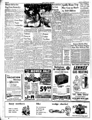 Alton Evening Telegraph from Alton, Illinois on August 19, 1963 · Page 6