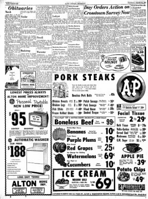 Alton Evening Telegraph from Alton, Illinois on August 22, 1963 · Page 26