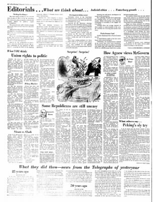 Alton Evening Telegraph from Alton, Illinois on August 23, 1972 · Page 4