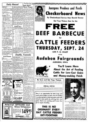 Carrol Daily Times Herald from Carroll, Iowa on September 18, 1959 · Page 8