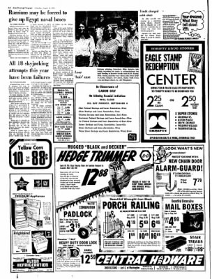 Alton Evening Telegraph from Alton, Illinois on August 31, 1972 · Page 6