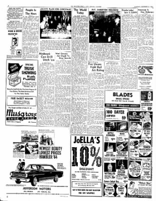 Mt. Vernon Register-News from Mt Vernon, Illinois on December 3, 1963 · Page 6