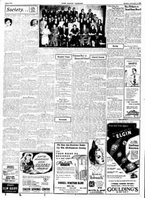 Alton Evening Telegraph from Alton, Illinois on January 13, 1950 · Page 10