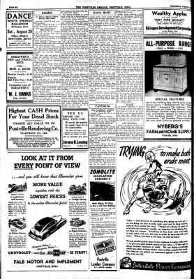 Postville Herald from Postville, Iowa on August 25, 1948 · Page 6