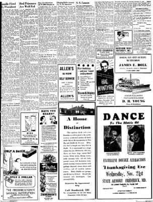 The News from Frederick, Maryland on November 17, 1951 · Page 4